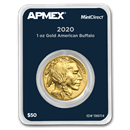 2020 1 oz Gold Buffalo (MintDirect® Single)