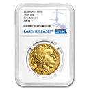 2020 1 oz Gold Buffalo MS-70 NGC (Early Releases)