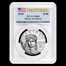 2020 1 oz Platinum American Eagle MS-69 PCGS (FirstStrike®)