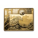 2020 1 oz Proof Gold €200 Masterpieces of Museums (The Wave)