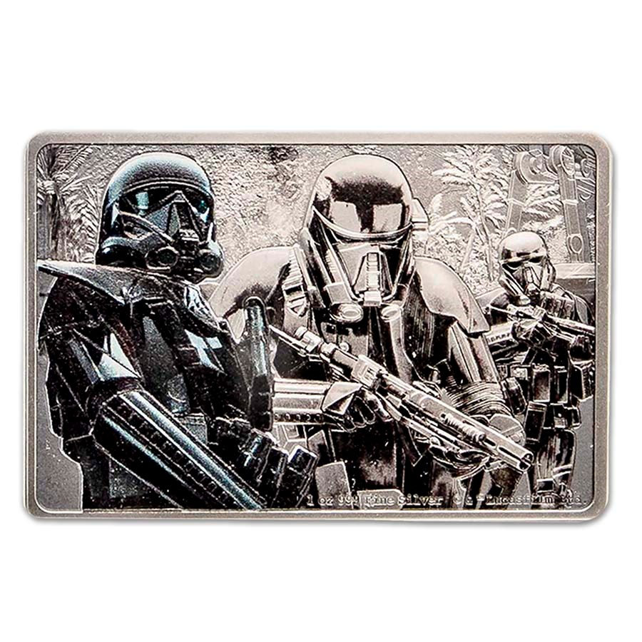2020 1 oz Silver $2 Star Wars Guards of the Empire: Death Trooper
