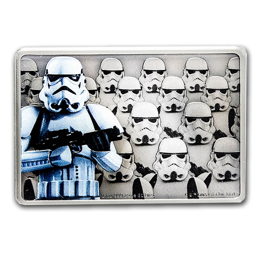 2020 Star Wars Guards Of The Empire Stormtrooper™ 1oz Silver Coin