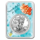 2020 1 oz Silver American Eagle - Birthday Balloons