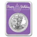 2020 1 oz Silver American Eagle - Birthday Periwinkle