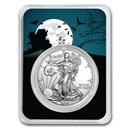 2020 1 oz Silver American Eagle - Haunted House