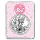 2020 1 oz Silver American Eagle - It's A Girl Stars
