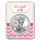 2020 1 oz Silver American Eagle - It's A Girl