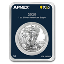2020 1 oz Silver American Eagle (MD Premier + PCGS FS Single)