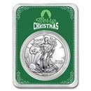 2020 1 oz Silver American Eagle - Merry Christmas (Green Card)