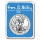 2020 1 oz Silver American Eagle - Royal Birthday