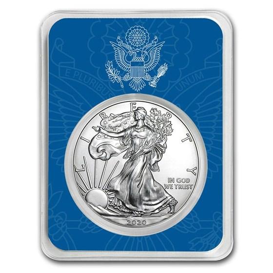 2020 1 oz Silver American Eagle - United States Seal
