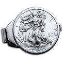 2020 1 oz Silver Eagle Money Clip