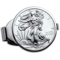2020 1 oz Silver Eagle Money Clip