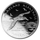 2020 1 oz Silver State Dollars Maryland Albatross
