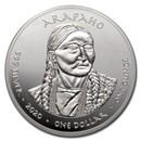 2020 1 oz Silver State Dollars Nebraska Catfish