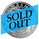 2020 1 oz Silver Treasures of the US Alabama Meteorite