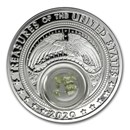 2020 1 oz Silver Treasures of the US Arizona Peridot