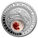 2020 1 oz Silver Treasures of the US Colorado Uranium
