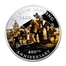 2020 2 oz Silver $2 400th Anniversary Pilgrim Landing