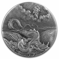 2020 2 oz Silver Coin Biblical Series (Destruction of Leviathan)