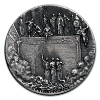 2020 2 oz Silver Coin - Biblical Series (The Fiery Furnace)