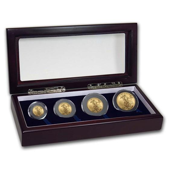 2020 4-Coin American Gold Eagle Set BU