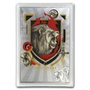2020 5 gram Silver $1 Note Harry Potter House Banners: Gryffindor