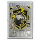 2020 5 gram Silver $1 Note Harry Potter House Banners: Hufflepuff