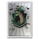 2020 5 gram Silver $1 Note Harry Potter House Banners: Slytherin