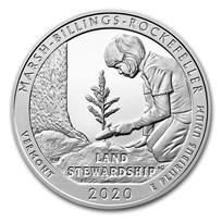 2020 5 oz Silver ATB Marsh-Billings-Rockefeller Nat'l Park, VT