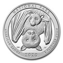 2020 5 oz Silver ATB National Park of American Samoa, AS