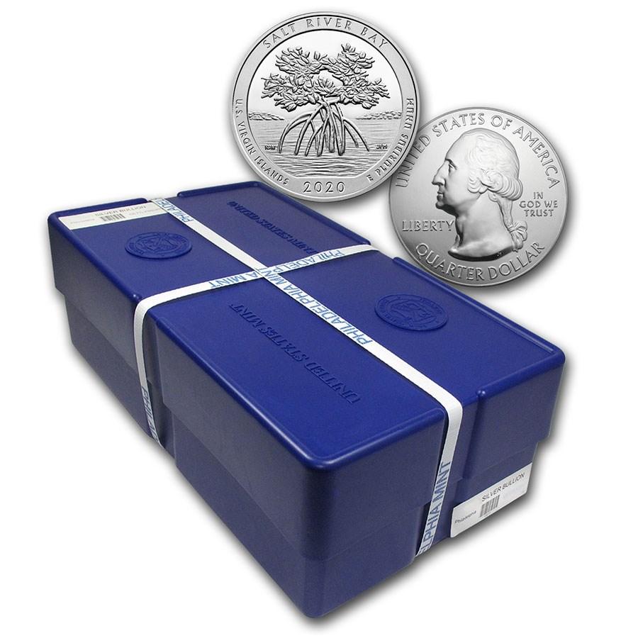 2020 5 oz Silver ATB Salt River Bay US Virgin Island (Sealed Box)