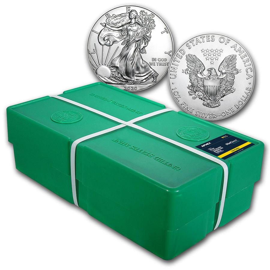 2020 500-Coin Silver Eagle Monster Box (MD Premier + PCGS FS)