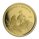 2020 Antigua & Barbuda 1 oz Gold Rum Runner BU