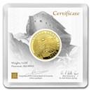 2020 Armenia 1/2 oz Gold 25,000 Dram Noah's Ark BU