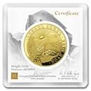 2020 Armenia 1/4 oz Gold 10,000 Dram Noah's Ark BU