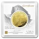 2020 Armenia 1 oz Gold 50,000 Dram Noah's Ark BU