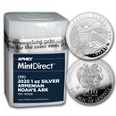 2020 Armenia 1 oz Silver Noah's Ark (20-Coin MintDirect® Tube)