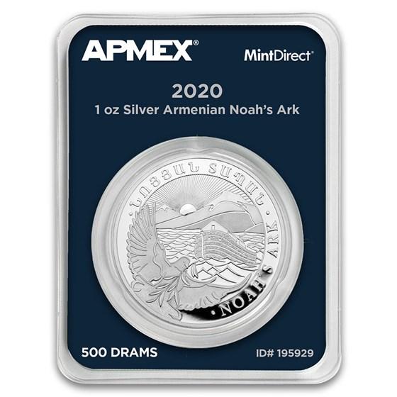 2020 Armenia 1 oz Silver Noah's Ark (MintDirect® Single)