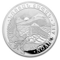 2020 Armenia 10 oz Silver 5000 Drams Noah's Ark