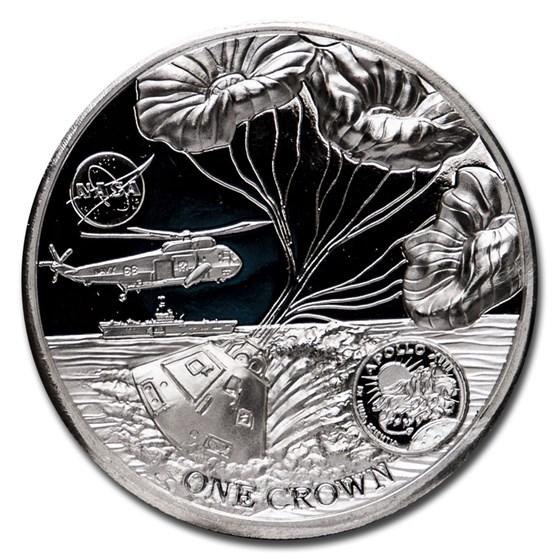 2020 ASC 2 oz Silver Proof 50th Anniversary of Apollo 13