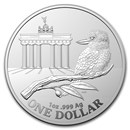 2020 Australia $1 1 oz Silver Coin Show: Brandenburg Gate