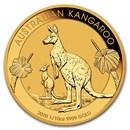 2020 Australia 1/10 oz Gold Kangaroo BU