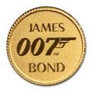 2020 Australia 1/2 gm Gold 007 James Bond Proof (Assay Card)