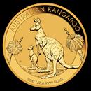 2020 Australia 1/2 oz Gold Kangaroo BU