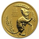 2020 Australia 1/2 oz Gold Lunar Mouse BU (Series 3)