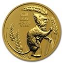 2020 Australia 1/2 oz Gold Lunar Mouse BU (Series 3)