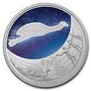 2020 Australia 1/2 oz Silver Star Dreaming Emu in the Sky