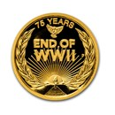 2020 Australia 1/4 oz Gold End of WWII 75th Anniversary Proof