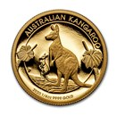 2020 Australia 1/4 oz Gold Kangaroo Proof (Box & COA)